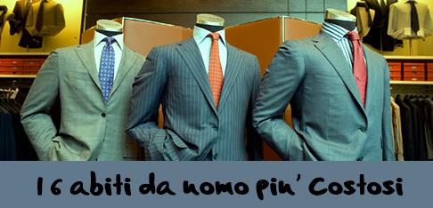 eb3979b28e32 Gli abiti da uomo più costosi al mondo - Centro Moda