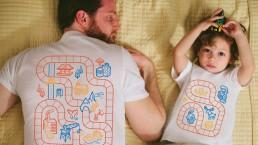 tutto suo padre quando padre e figlio indossano gli stessi capi e fanno tendenza