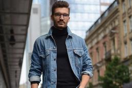 Il giubino di jeans
