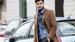 Come indossare il giubbotto di jeans in inverno